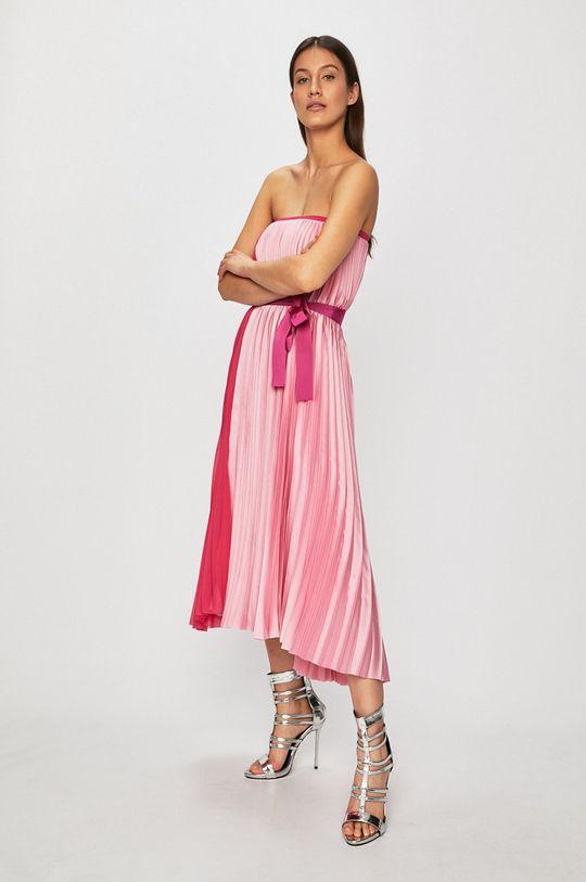 fuchsiová Pinko - Šaty