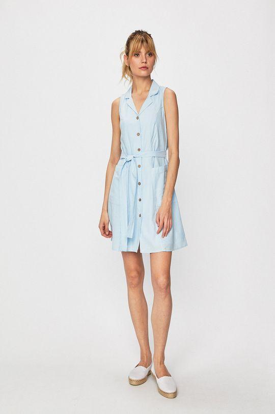 Vero Moda - Sukienka blady niebieski