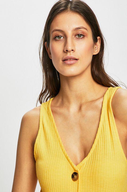 Only - Šaty žlutá
