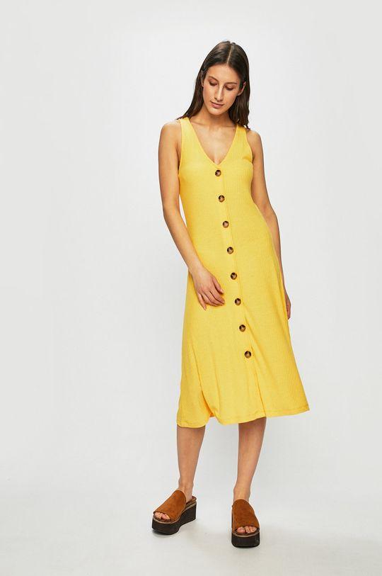 žlutá Only - Šaty