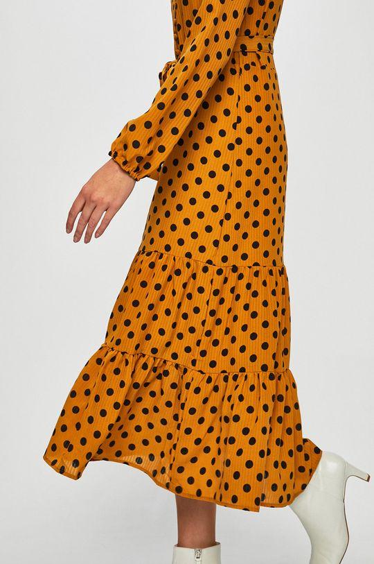 hořčicová Only - Šaty