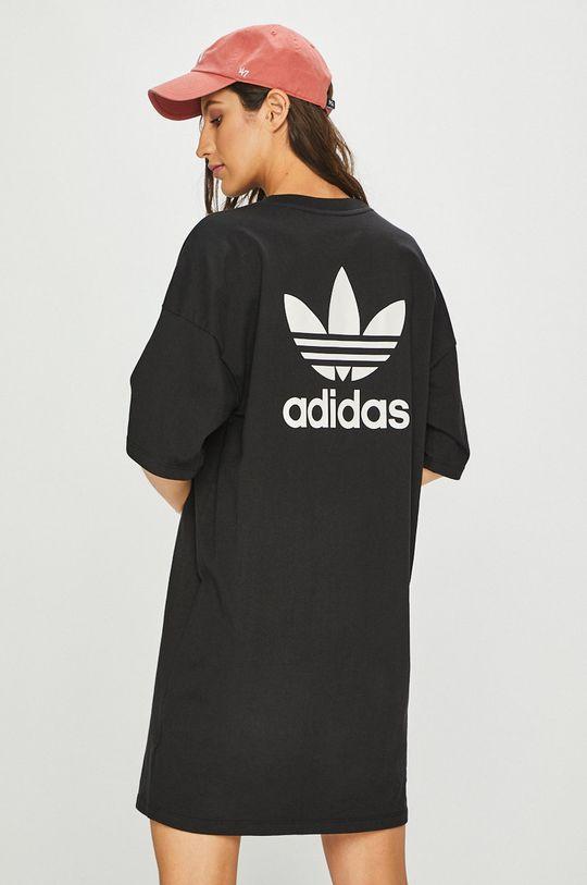 černá adidas Originals - Šaty