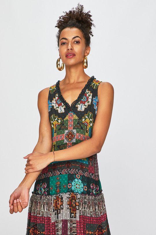 zelená Desigual - Šaty