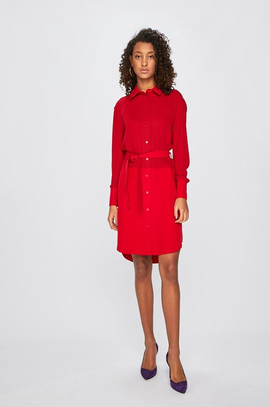 Armani Exchange - Šaty červená
