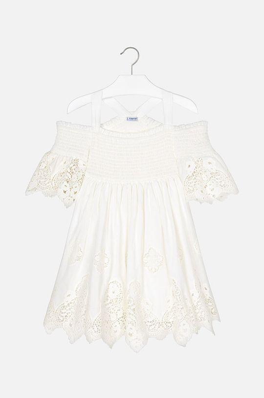 smetanová Mayoral - Dívčí šaty 128-167 cm Dívčí