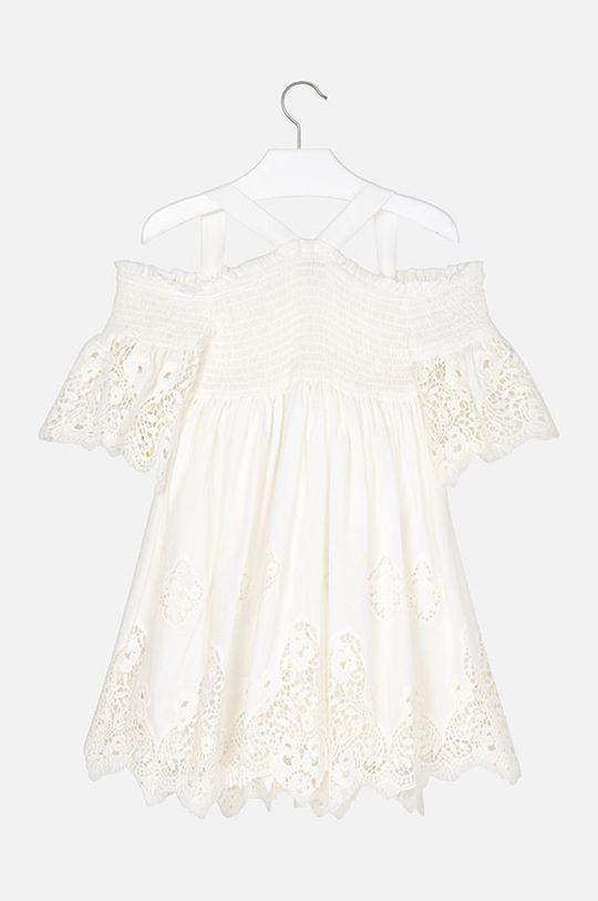 Mayoral - Dívčí šaty 128-167 cm Podšívka: 20% Bavlna, 80% Polyester Hlavní materiál: 100% Bavlna