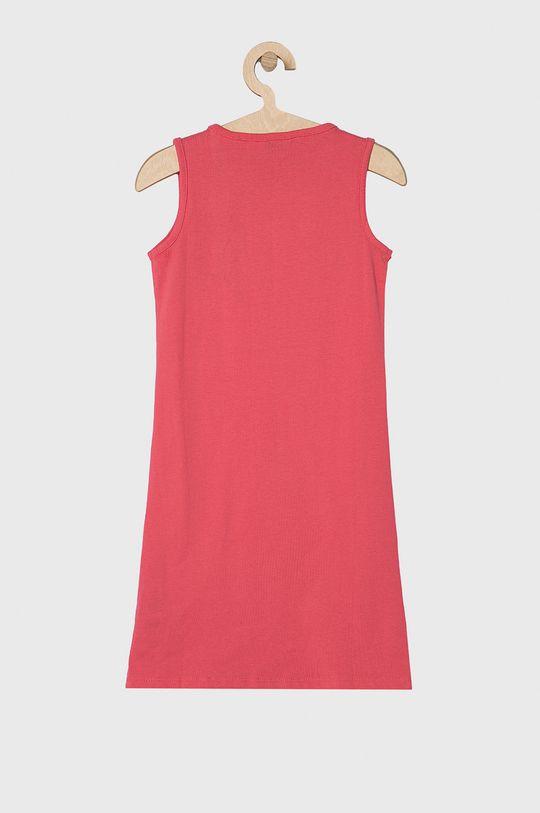 Guess Jeans - Sukienka dziecięca 118-175 cm ostry różowy