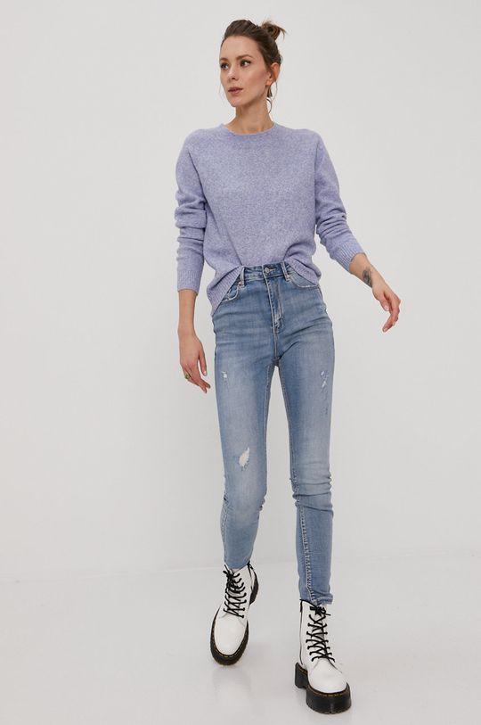 Vero Moda - Svetr fialová