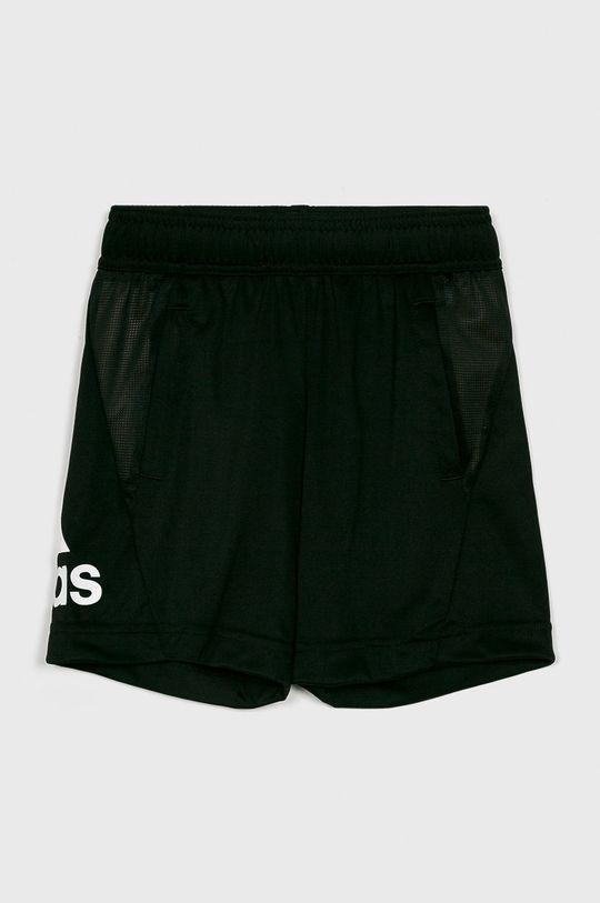 čierna adidas Performance - Detské krátke nohavice 110-176 cm Chlapčenský