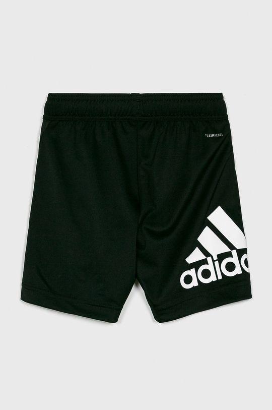 adidas Performance - Detské krátke nohavice 110-176 cm čierna