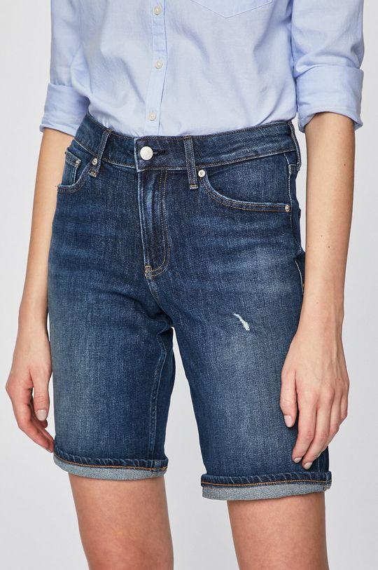 modrá Calvin Klein Jeans - Kraťasy Dámský
