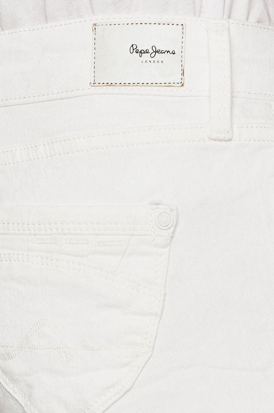 bílá Pepe Jeans - Kraťasy