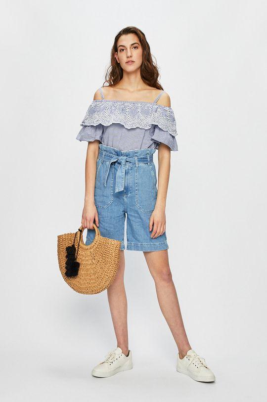 Pepe Jeans - Rövidnadrág Phoebe kék