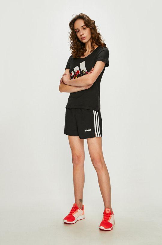 adidas Performance - Rövidnadrág fekete