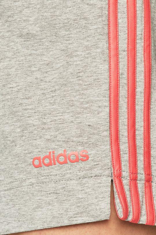 šedá adidas Performance - Kraťasy