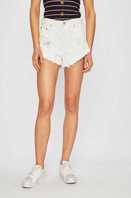alb Glamorous - Pantaloni scurti De femei
