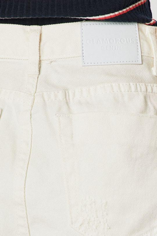 alb Glamorous - Pantaloni scurti