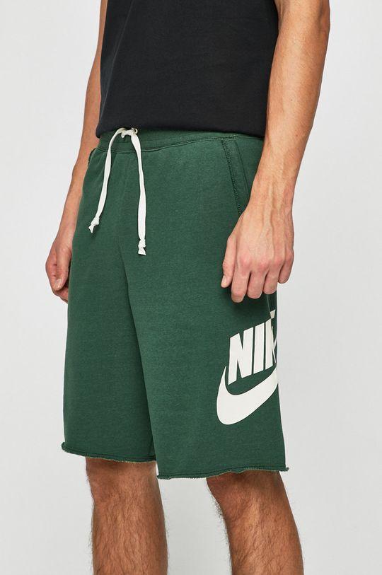 zelená Nike Sportswear - Kraťasy Pánský