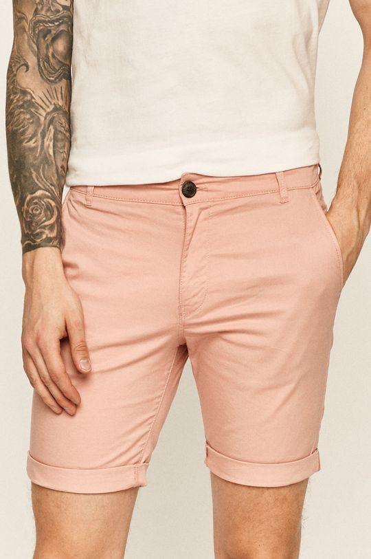roz violet Selected - Pantaloni scurti De bărbați