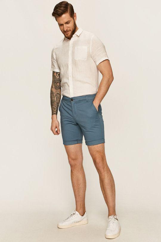 Selected - Pantaloni scurti albastru