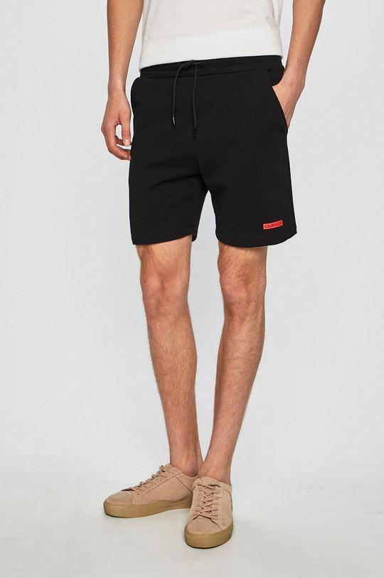 fekete Calvin Klein Jeans - Rövidnadrág Terry Short Férfi
