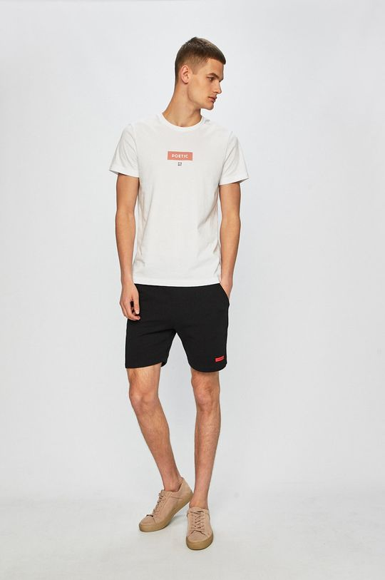 Calvin Klein Jeans - Rövidnadrág Terry Short fekete