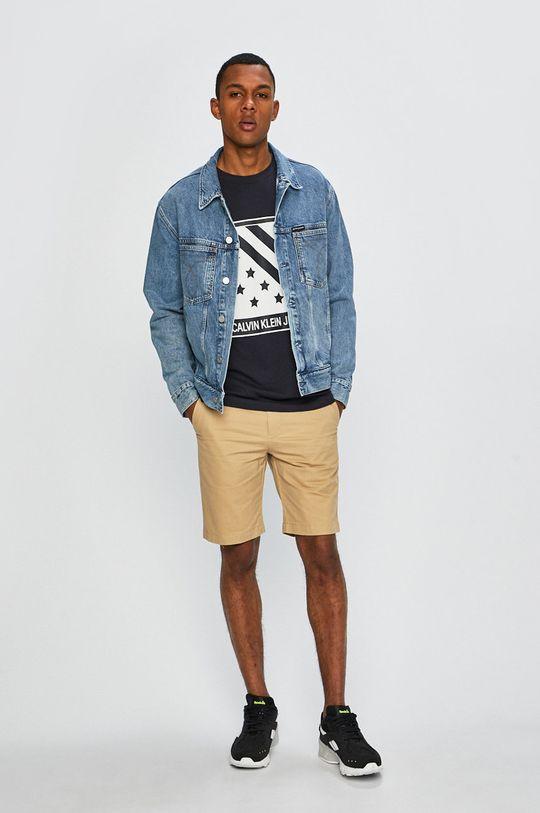 písková Calvin Klein Jeans - Kraťasy Pánský