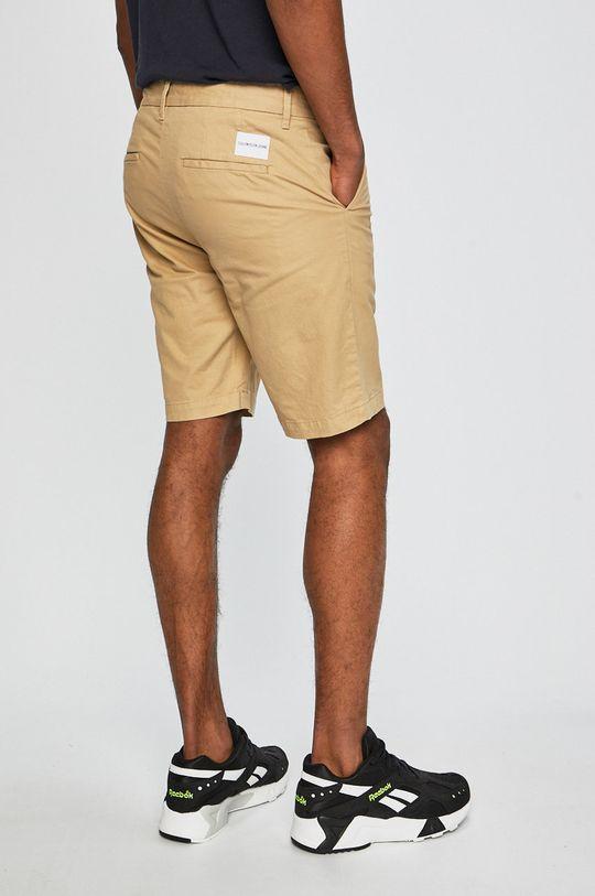 Calvin Klein Jeans - Kraťasy písková