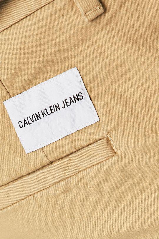 písková Calvin Klein Jeans - Kraťasy
