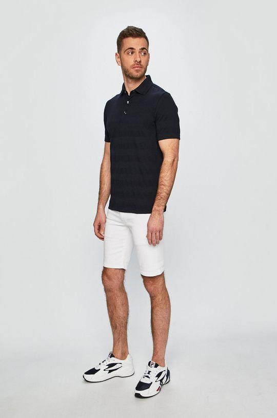 Pepe Jeans - Pánske šortky Cane biela
