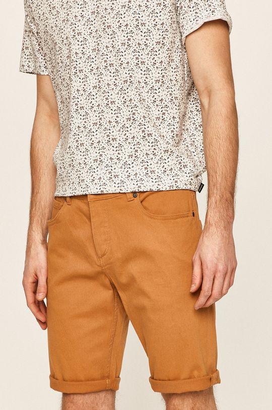 maro auriu Produkt by Jack & Jones - Pantaloni scurti De bărbați