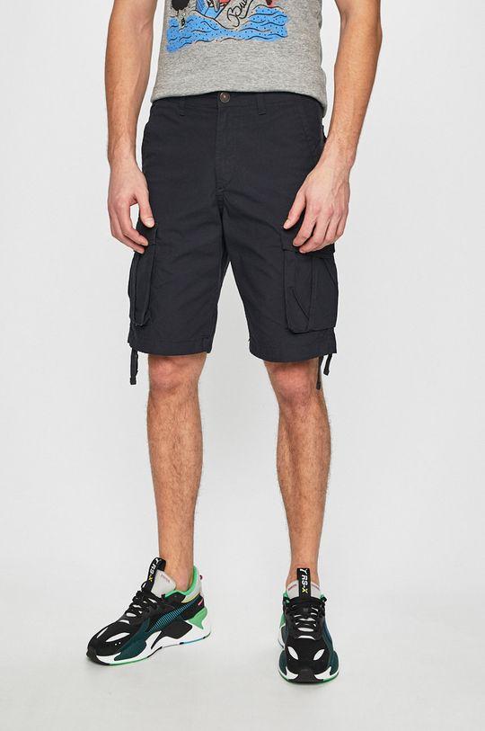 tmavomodrá Produkt by Jack & Jones - Pánske šortky Pánsky