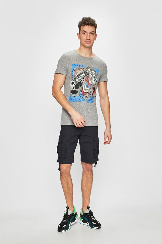 Produkt by Jack & Jones - Pánske šortky tmavomodrá