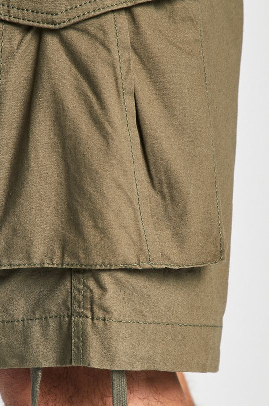 olivová Produkt by Jack & Jones - Pánske šortky