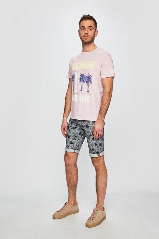 Pepe Jeans - Kraťasy námořnická modř