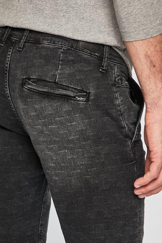 grafit Pepe Jeans - Rövidnadrág Noah Short Checkered