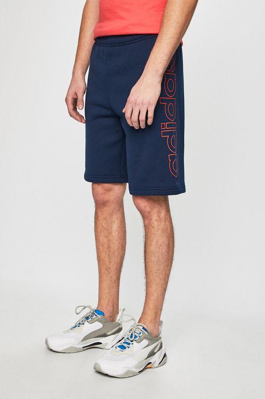 tmavomodrá adidas Originals - Pánske šortky Pánsky