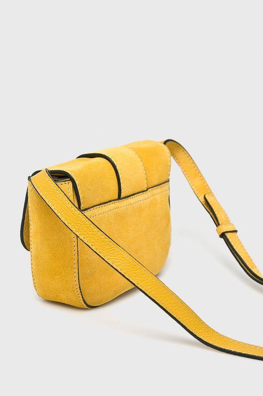 Pieces - Kožená kabelka Hlavní materiál: 100% Přírodní kůže