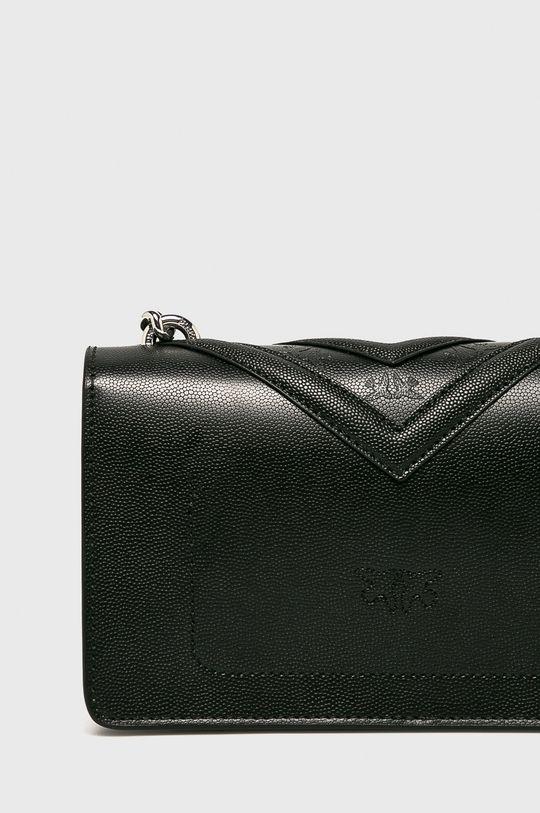 černá Pinko - Kožená kabelka