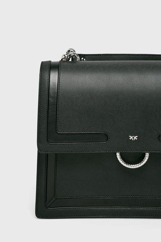 Pinko - Kožená kabelka černá