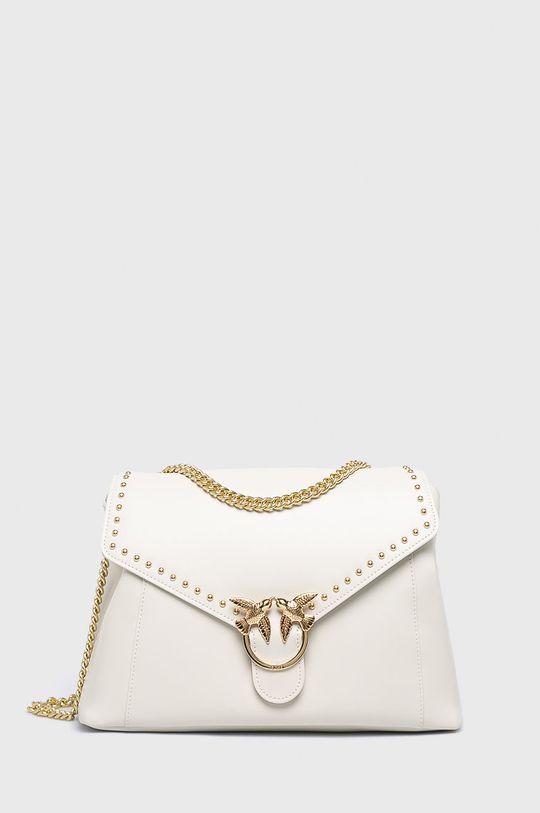 bílá Pinko - Kožená kabelka Dámský