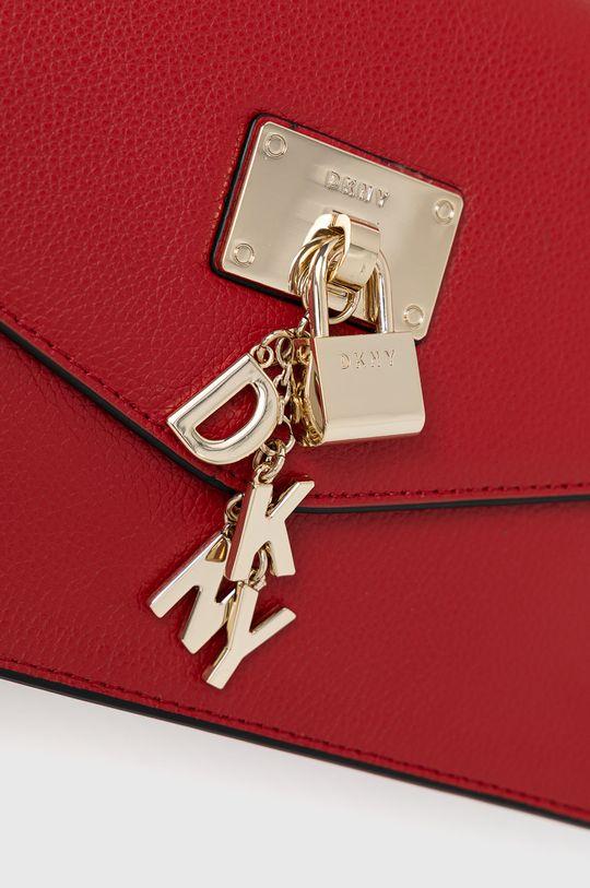 Dkny - Kožená kabelka červená