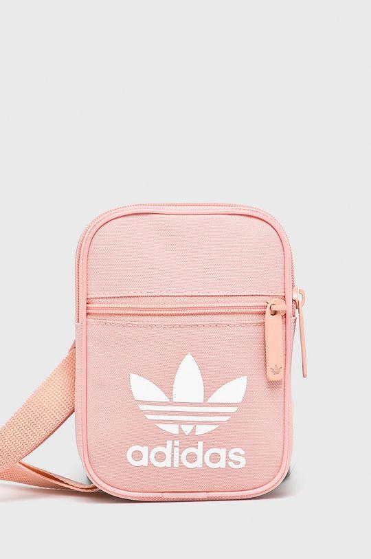 pastelová ružová adidas Originals - Kabelka Dámsky