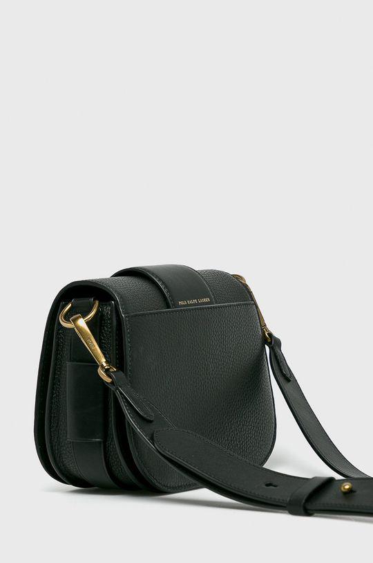 černá Polo Ralph Lauren - Kožená kabelka