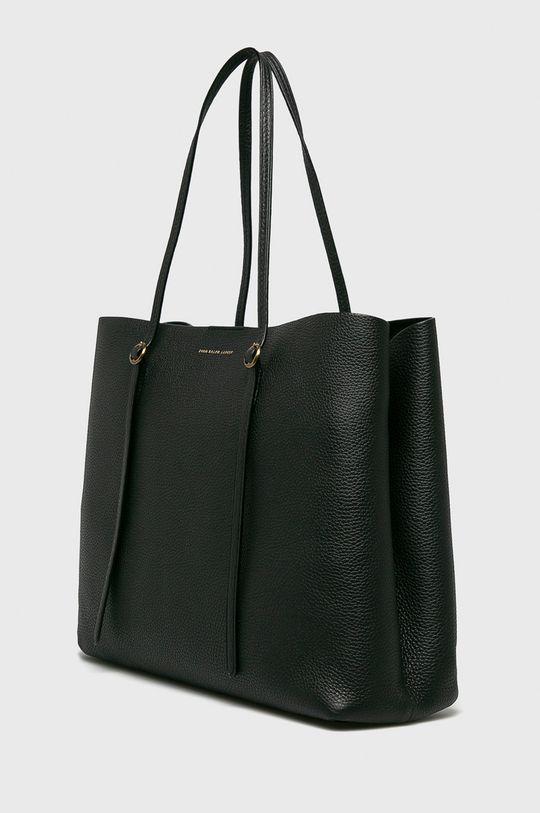 Polo Ralph Lauren - Kožená kabelka Přírodní kůže