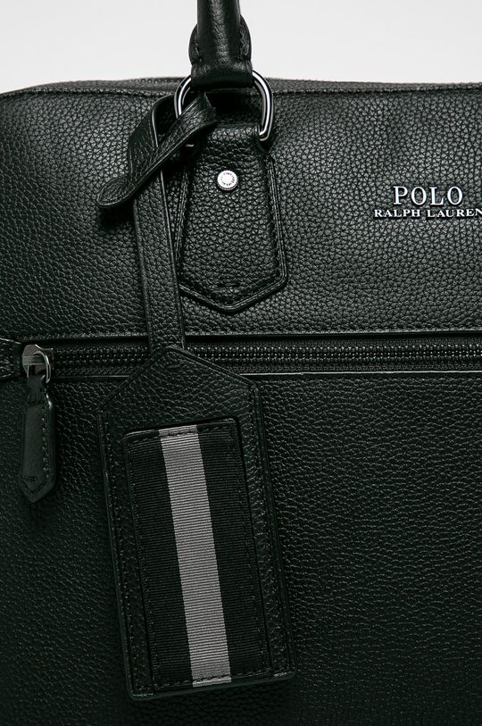 Polo Ralph Lauren - Kožená taška černá