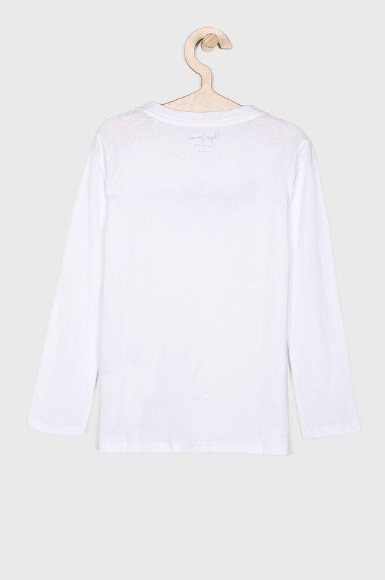 Pepe Jeans - Dětské tričko s dlouhým rukávem 128-180 cm bílá