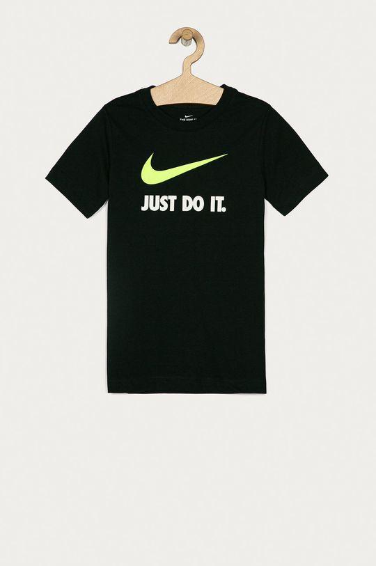 černá Nike Kids - Dětské tričko 122-170 cm Chlapecký