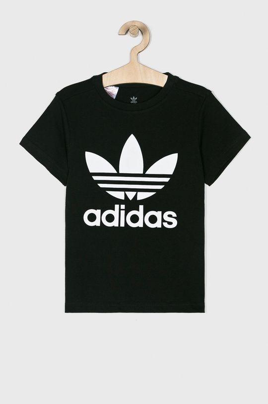 чорний adidas Originals - Дитяча футболка 128-164 cm Для хлопчиків
