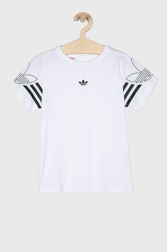 biela adidas Originals - Detské tričko 128-176 cm Chlapčenský
